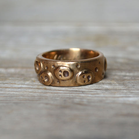 Nightwanderer Ring in Bronze