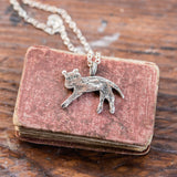 Foundlings Necklace: Ash (Cat)
