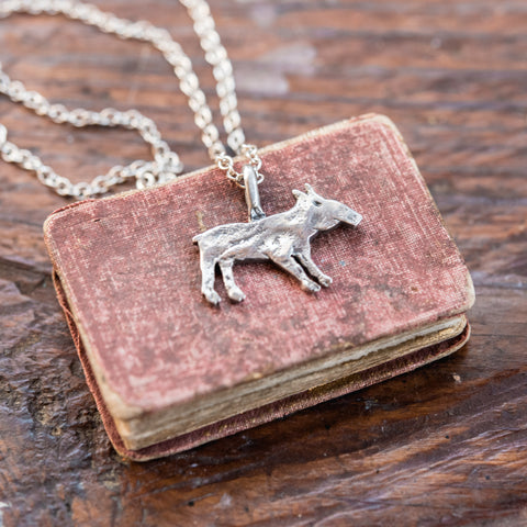 Foundlings Necklace: Fern (Tapir)