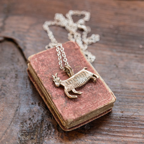 Foundlings Necklace: Ivy (Goat)