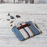 Spender Pouch with Antique Ticking: Helena