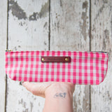 Drafter Pouch with 1950s Deadstock Textile: Adelaide