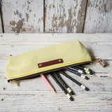 Drafter Pouch with 1950s Deadstock Textile: Maude