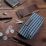 Essentials Pouch with Homespun coverlet: Edvard