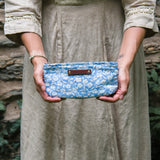 Essentials Pouch with Vintage Feedsack: Flora