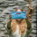 Essentials Pouch with 1800s Textile: Sofia