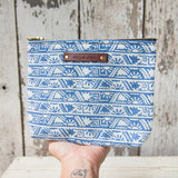 Keeper Pouch with Vintage Feedsack: Aelia