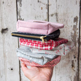 Saver Pouch with 1930s Cotton: Shirley