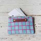 Spender Pouch with Vintage Feedsack: Anselma