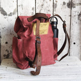 Antique Leather Little Rogue Backpack