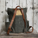 Antique Leather Rogue Backpack
