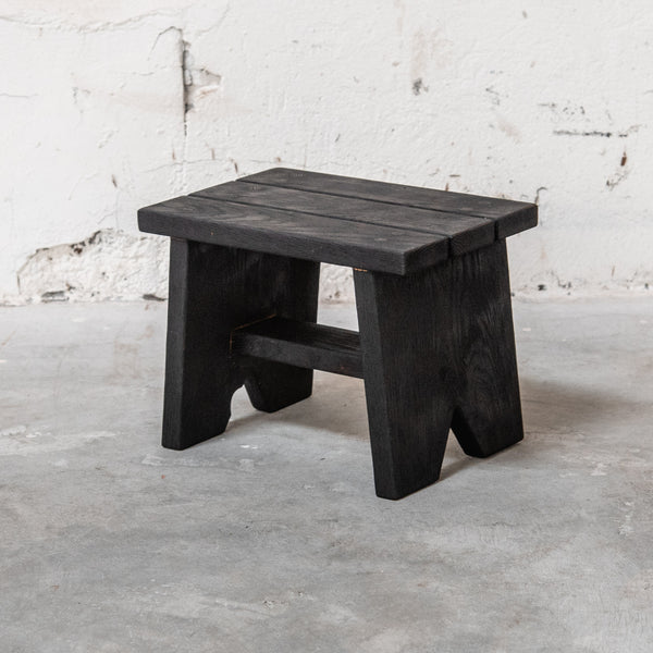 Blackened Step Stool