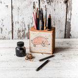 Foundlings Small Desk Caddy: Holly