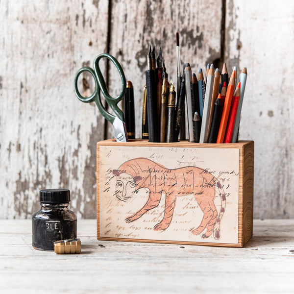 Foundlings Medium Desk Caddy: Juniper