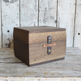 Treasure Box from Reclaimed Oak