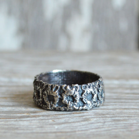 Victorian Lace Ring, No. 3 in Silver