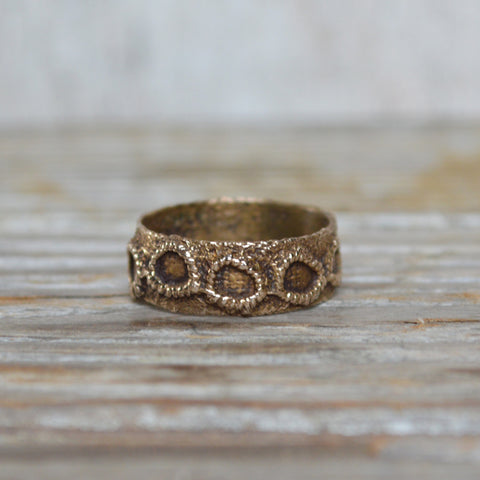 Victorian Lace Ring, No. 2 in Bronze