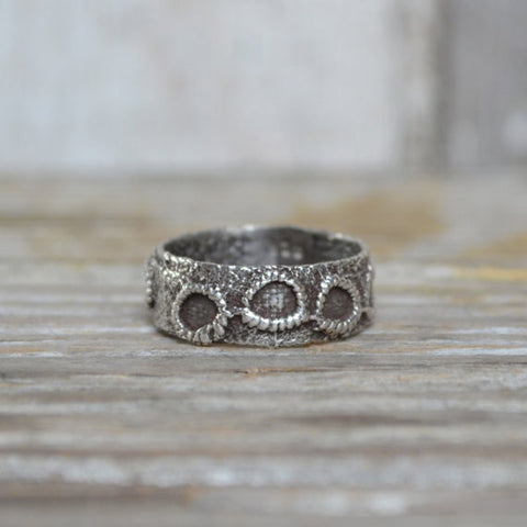 Victorian Lace Ring, No. 2 in Silver