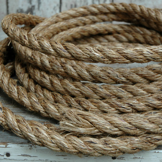 Additional Rope for Peg and Awl Tree Swing