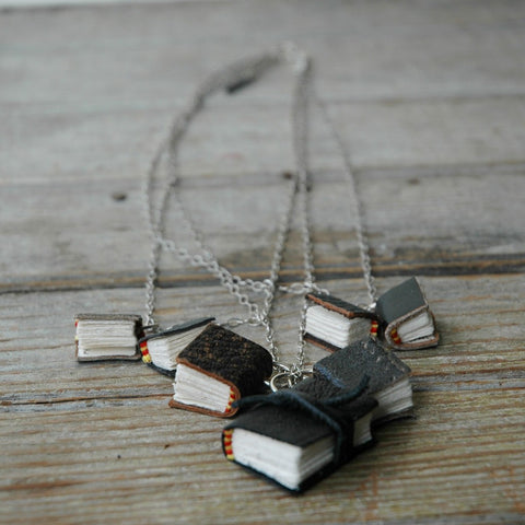 Darkened Library Necklace