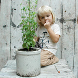 Organic Cotton T-Shirt for Children and Babies