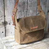 Antique Leather Finch Satchel