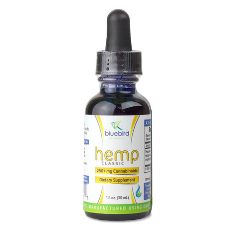 Bluebird Botanicals: Classic Full Spectrum Hemp CBD Oil