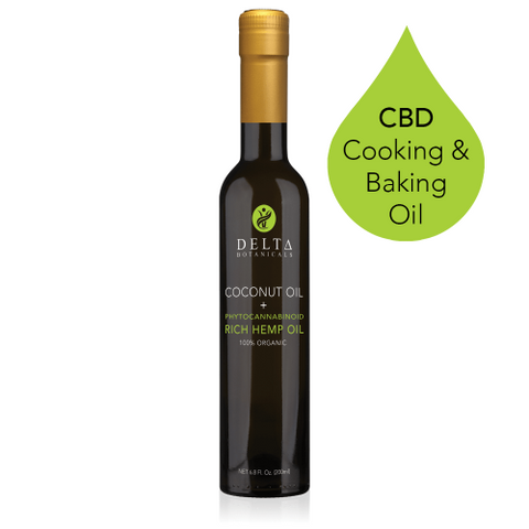 Delta CBD Cooking and Baking Oil - 200mg