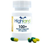 Highland Pharms Hemp Vegan Capsules