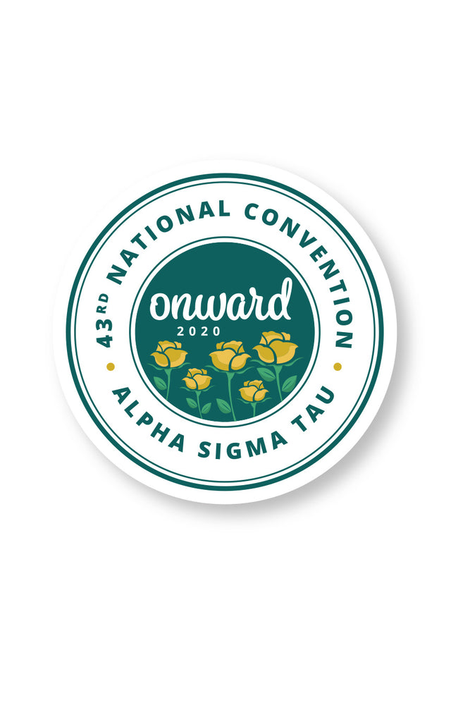 43rd National Convention Decal