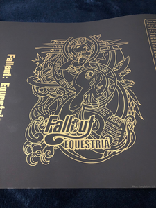 Fallout Equestria 3rd Edition Dust Jacket