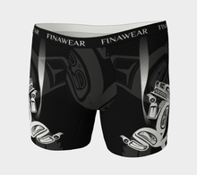 Load image into Gallery viewer, Men's Boxers Wolf White