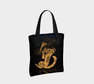 Wolf Gold Urban Tote
