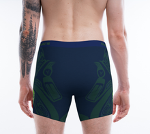 Load image into Gallery viewer, Men's Boxers Wolf Seahawks