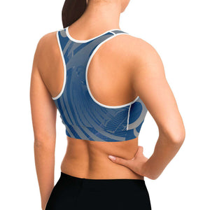 Wings Blue Sportsbra