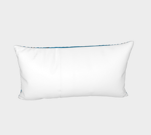 Raven Pillow Sham Right Blue