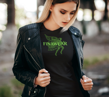 Load image into Gallery viewer, Finawear - Neon Green Lettering
