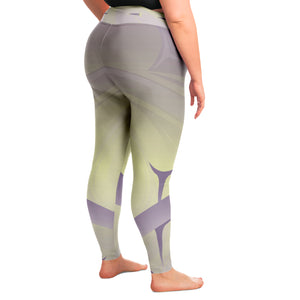 Hazy Sun Leggings 2X to 4X