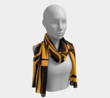 Load image into Gallery viewer, Form Gold Scarf