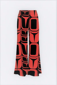 Form Red Palazzo Pants