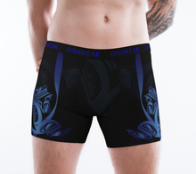 Load image into Gallery viewer, Men's Boxers Wolf Blue