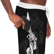 Load image into Gallery viewer, Wolf White Unisex Sweatpants