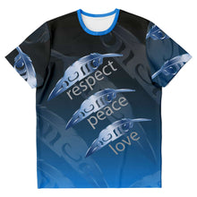 Load image into Gallery viewer, Peace Love Respect Unisex Tee