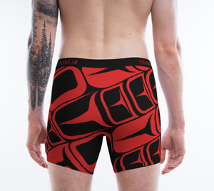 Direct Form Red Men's Boxers