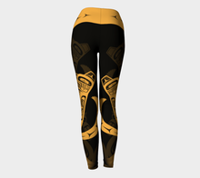 Load image into Gallery viewer, Wolf Gold Legging
