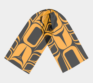 Form Gold Scarf