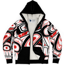 Load image into Gallery viewer, Raven Fleece Lined Hoodie
