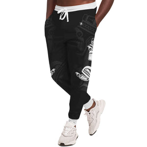 Wolf White Unisex Sweatpants