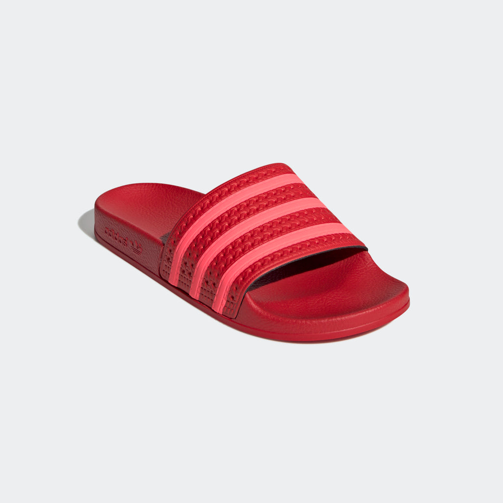 Adidas Originals Adilette Scarlet Red Women Made In Italy EE6185