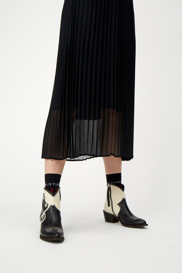 Moe pleated skirt